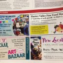 Our ad in Newcastle Weekly's monthly market page!