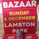 Our posters, signs and flyers have arrived for Art Bazaar Lambton Park!