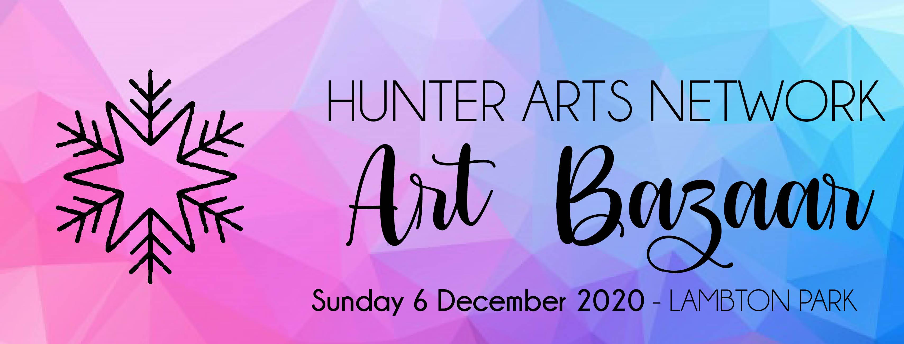 Download artwork for Hunter Arts Network Art Bazaar Sunday 6 December Lambton Park