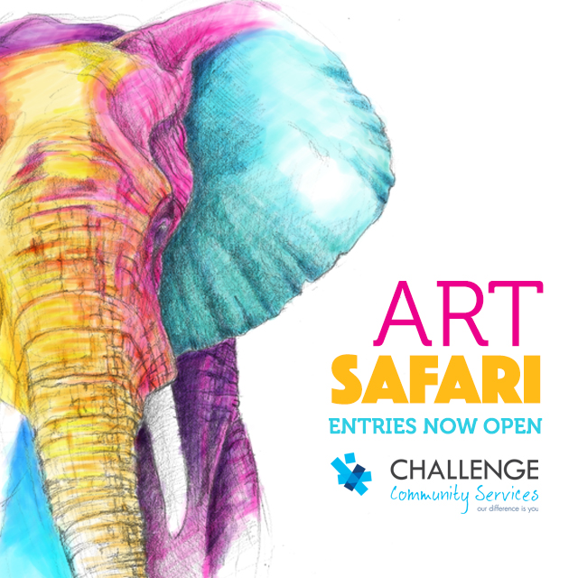 Art Safari FB Ad-Elephant-2GO