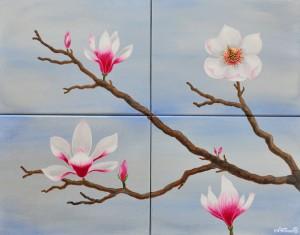 Magnolia_acrylic on canvas