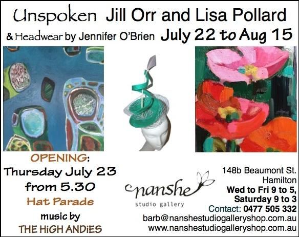 Nanshe Exhibits work by Jill Orr, Lisa Pollard and Jennifer Obrien (1)