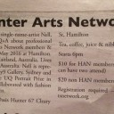 The Leader article for Nell artist talk