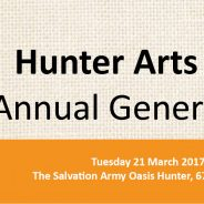 Hunter Arts Network Annual General Meeting