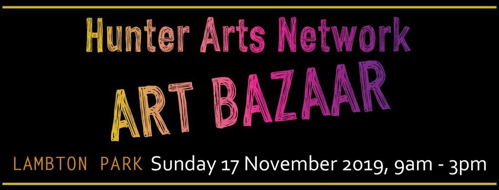 Hunter Arts Network Art Bazaar Lambton Park Sunday 17 November 2019 – List of stallholders
