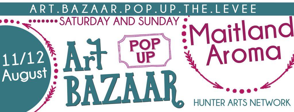art bazaar pop up maitland aroma 2018 FB cover