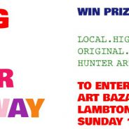 The Big Art Bazaar Giveaway at Hunter Arts Network Art Bazaar Lambton Park 17 November 2019