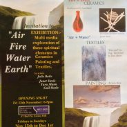 Back to Back galleries presents – Air Fire Water Earth