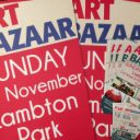 Art Bazaar Lambton Park poster, flyers and corflutes