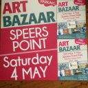 Help Hunter Arts Network distribute posters and corflutes for Art Bazaar Speers Point 2019!