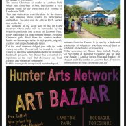 Hunter Arts Network Art Bazaar in Lambton Local!
