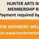 Hunter Arts Network Membership Renewal