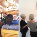 ROAMING ART TOURS is travelling aboard Newcastle's Famous Tram to Art Bazaar Speers Point 2018