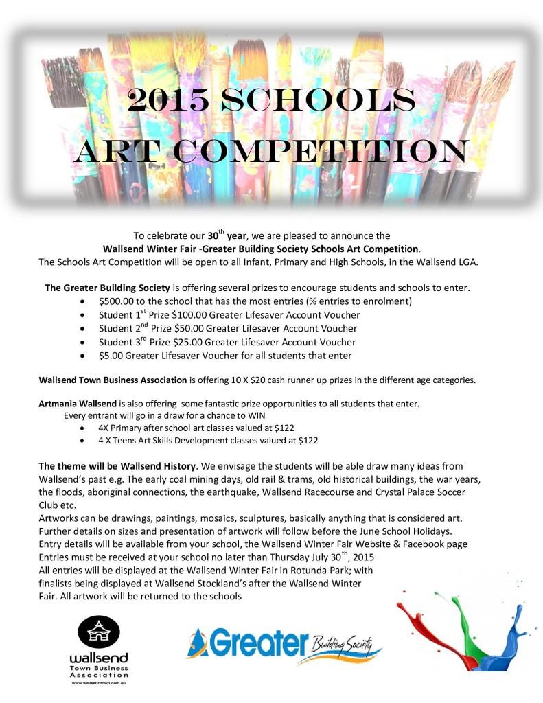 wallsend winter fari schools art competition